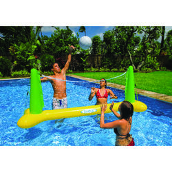 Intex Multicolored Vinyl Inflatable Volleyball Pool Game