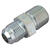 BrassCraft  3/8 in. 1/2 in. Dia. Stainless Steel  Gas Connector