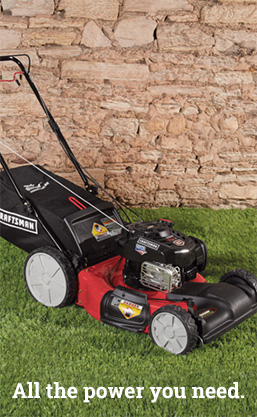 mower image, all the power you need