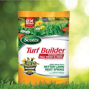 Save on Scotts® Fall Lawn Care