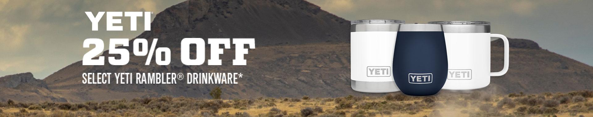 Yeti - 25% Off select Yeti Rambler Drinkware*