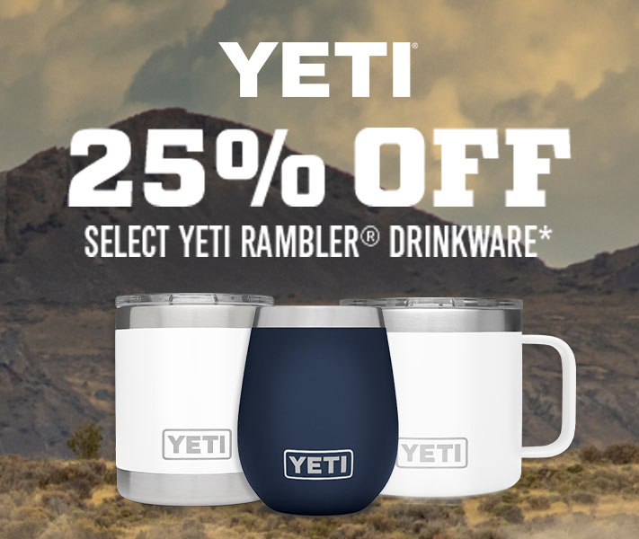 Yeti - 25% Off select Yeti Rambler Drinkware*