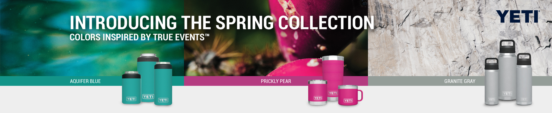 Yeti - Introducing the Spring Collection