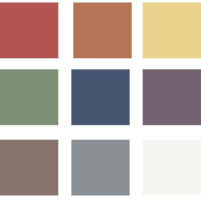 Color Swatch Grid