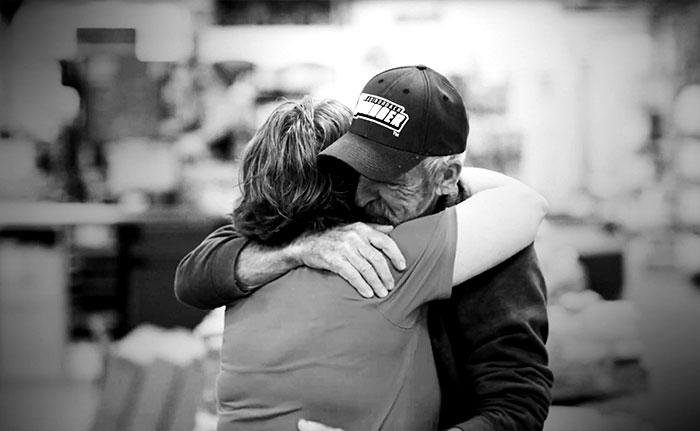 Sue Hugging