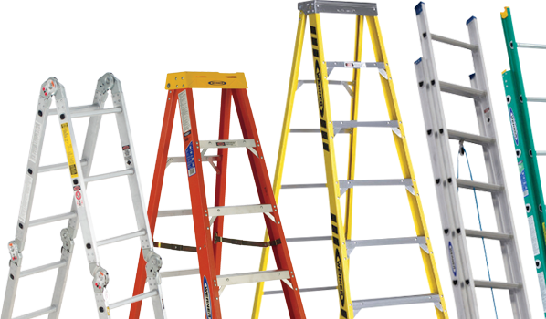 Shop our extended aisle of ladders.