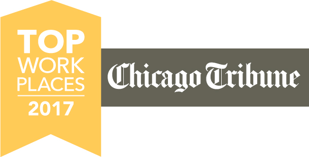 chicago tribune, top work places 2017