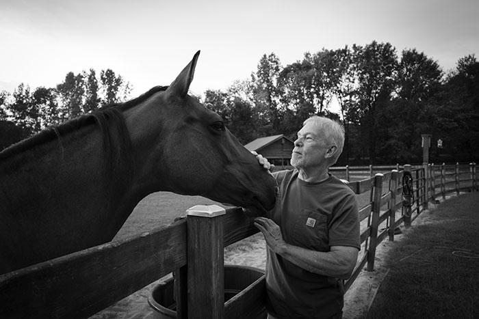Joe with horse