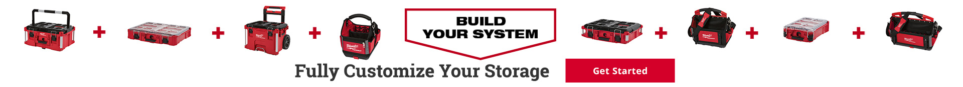 Fully customize your storage - Shop Now
