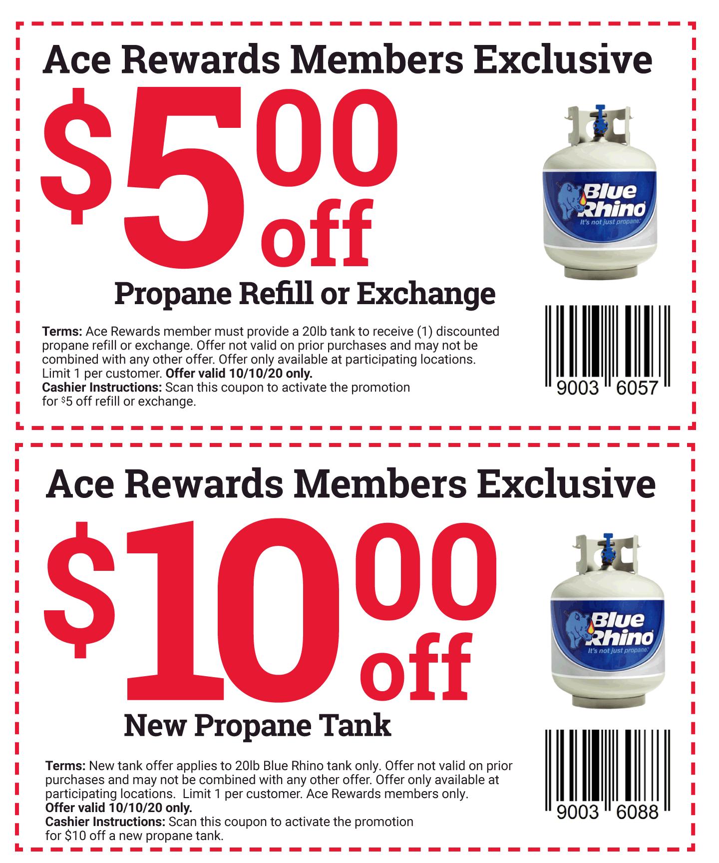 propane coupon