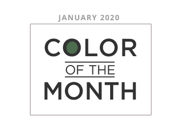 Color of the Month January 2020