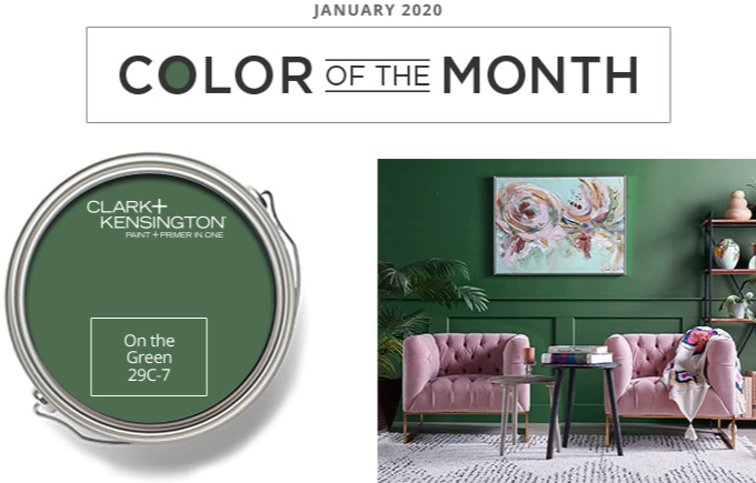 Color of the Month - January 2020 - On the Green