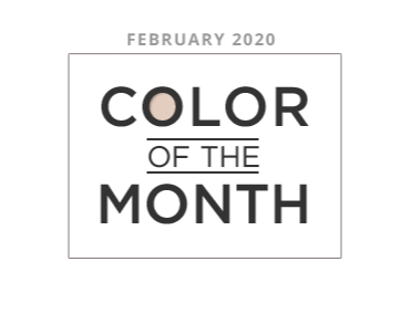 Color of the Month february 2020