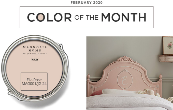 Color of the Month - february 2020 - Ella Rose