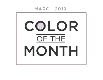 Color of the Month March 2019