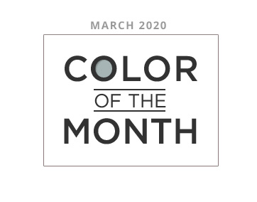 Color of the Month March 2020