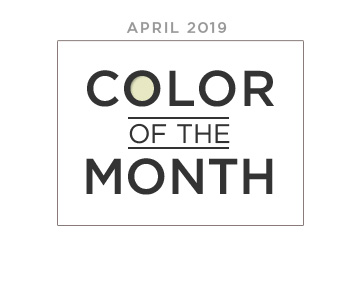 Color of the Month April 2019