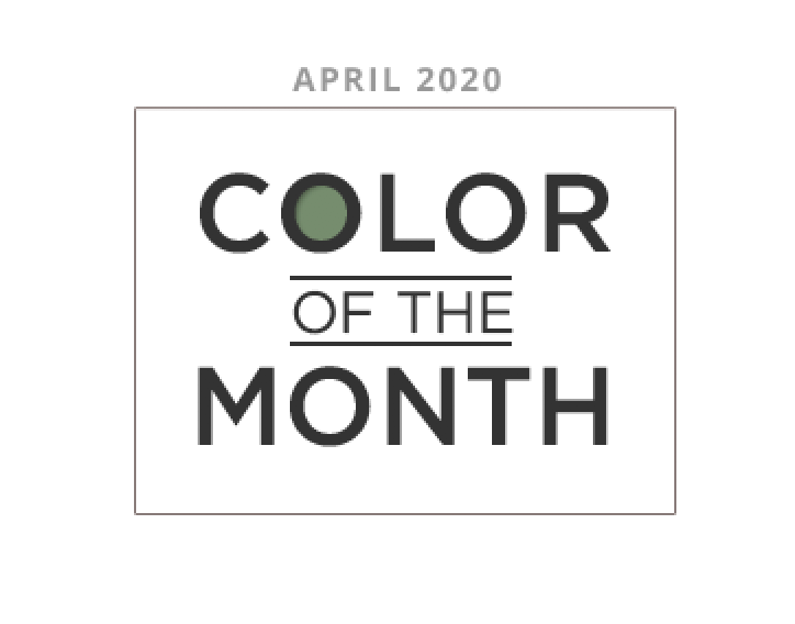 Color of the Month april 2020