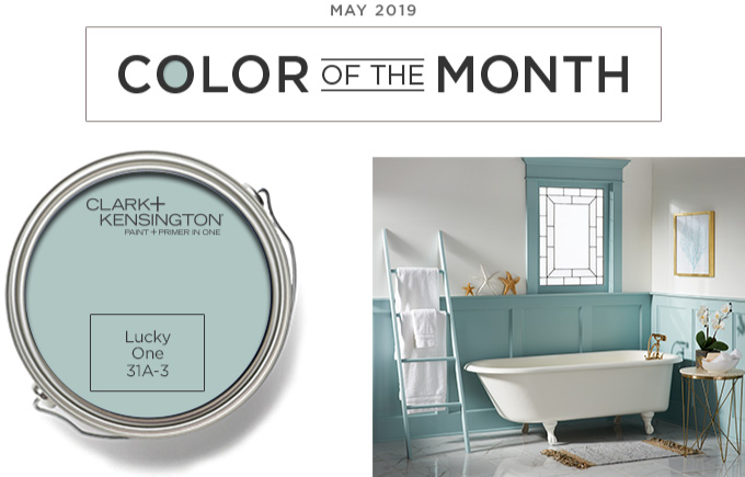 Color of the Month - May 2019 - Lucky One