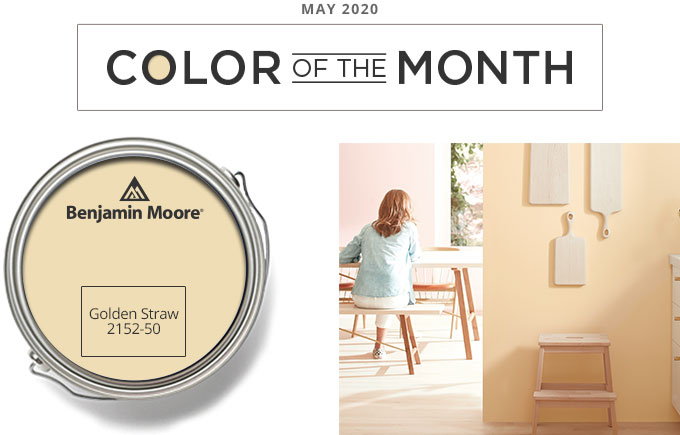 Color of the Month - may 2020 - Golden Straw