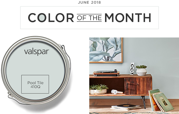 Color of the Month - June 2018 - Pool Tile