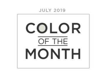 Color of the Month july 2019