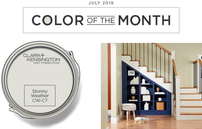 Color of the Month - july 2019 - Stormy Weather