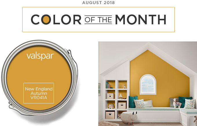 Color of the Month - July 2018 - New England Autumn