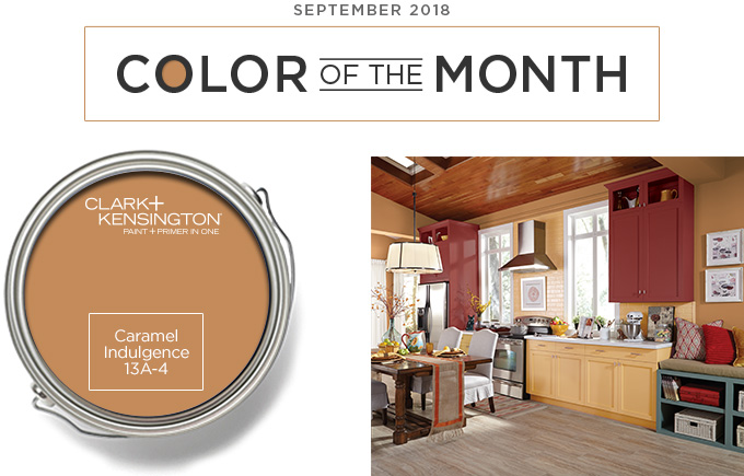 Color of the Month September 2018