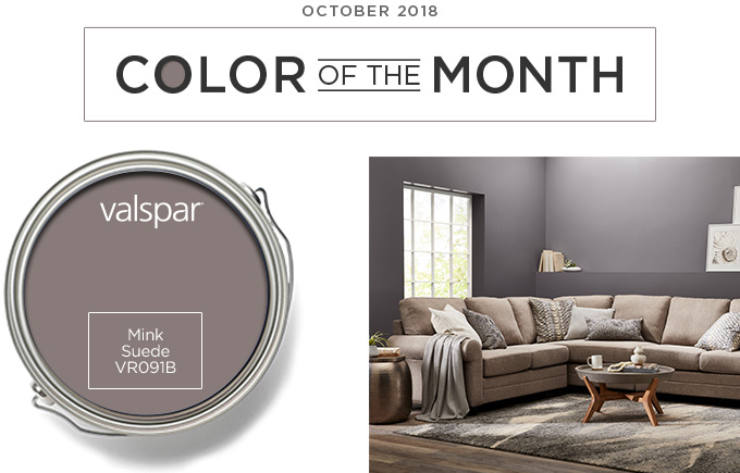 Color of the Month October 2018