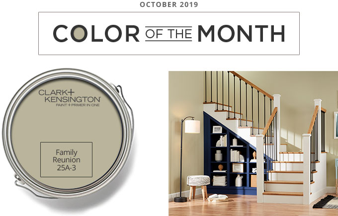 Color of the Month - October 2019 - Family Reunion