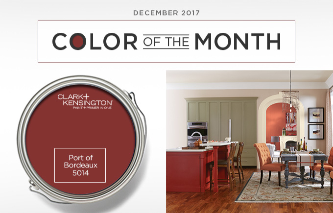 Color of the Month December 2017