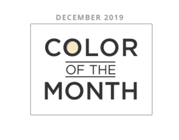 Color of the Month December 2019