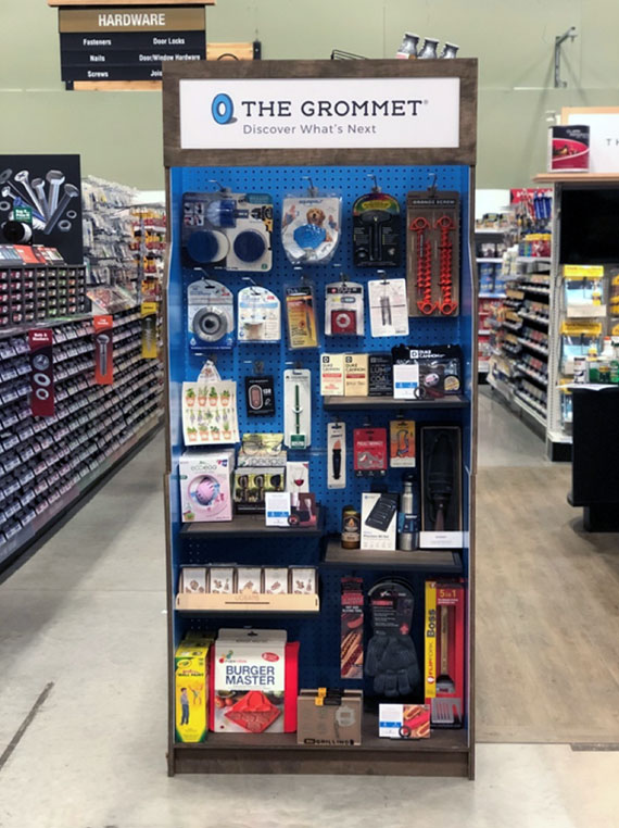 The Grommet Display