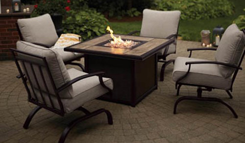 Living Accents Halsted 5 Pc. Steel Patio Set