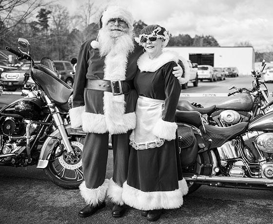 Riding With Santa