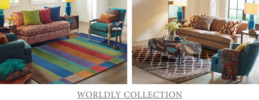 Shop the Worldly Collection