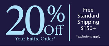 Save 20% on Your Order (Full-Priced Merchandise)