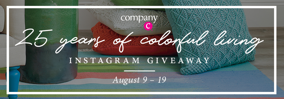 The Company C 25th Anniversary Instagram Giveaway