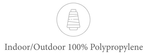 Indoor/Outdoor 100% Polypropylene