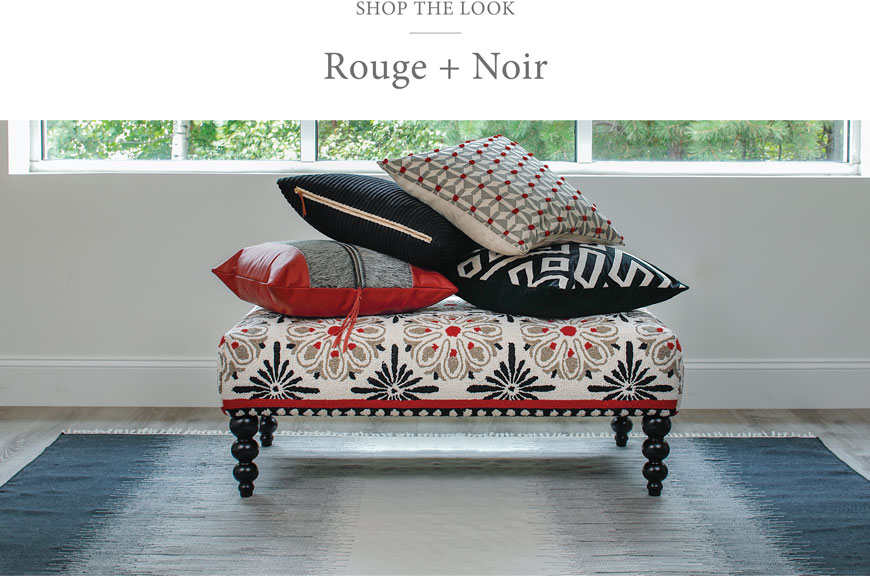 Shop the Rouge + Noir Collection