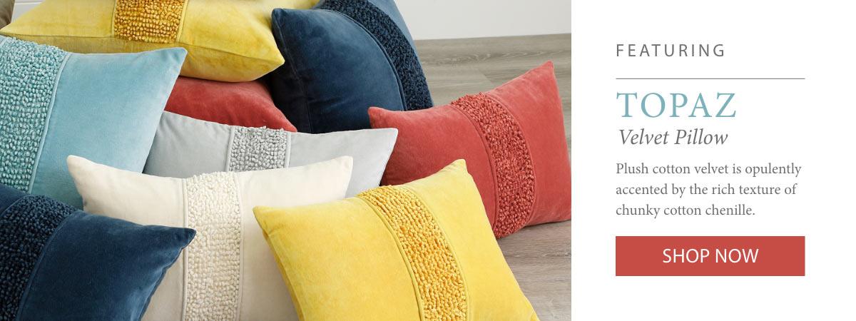 Shop Topaz Pillows