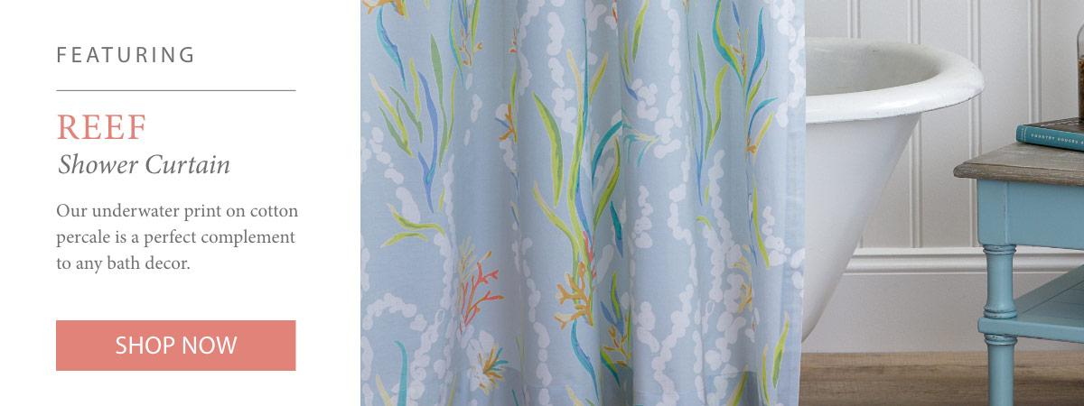 Shop Reef Shower Curtain