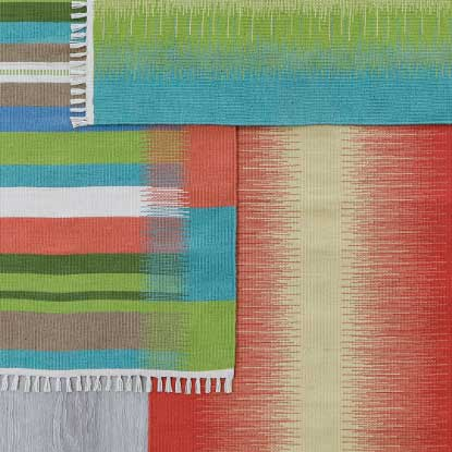 View Flatweave Rug Video