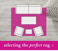Selecting the perfect rug