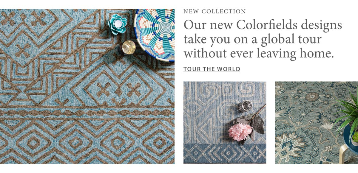 Shop the New Colorfields Collection