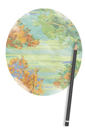 Landscape Custom Rug