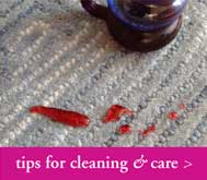 tips for cleaning & care