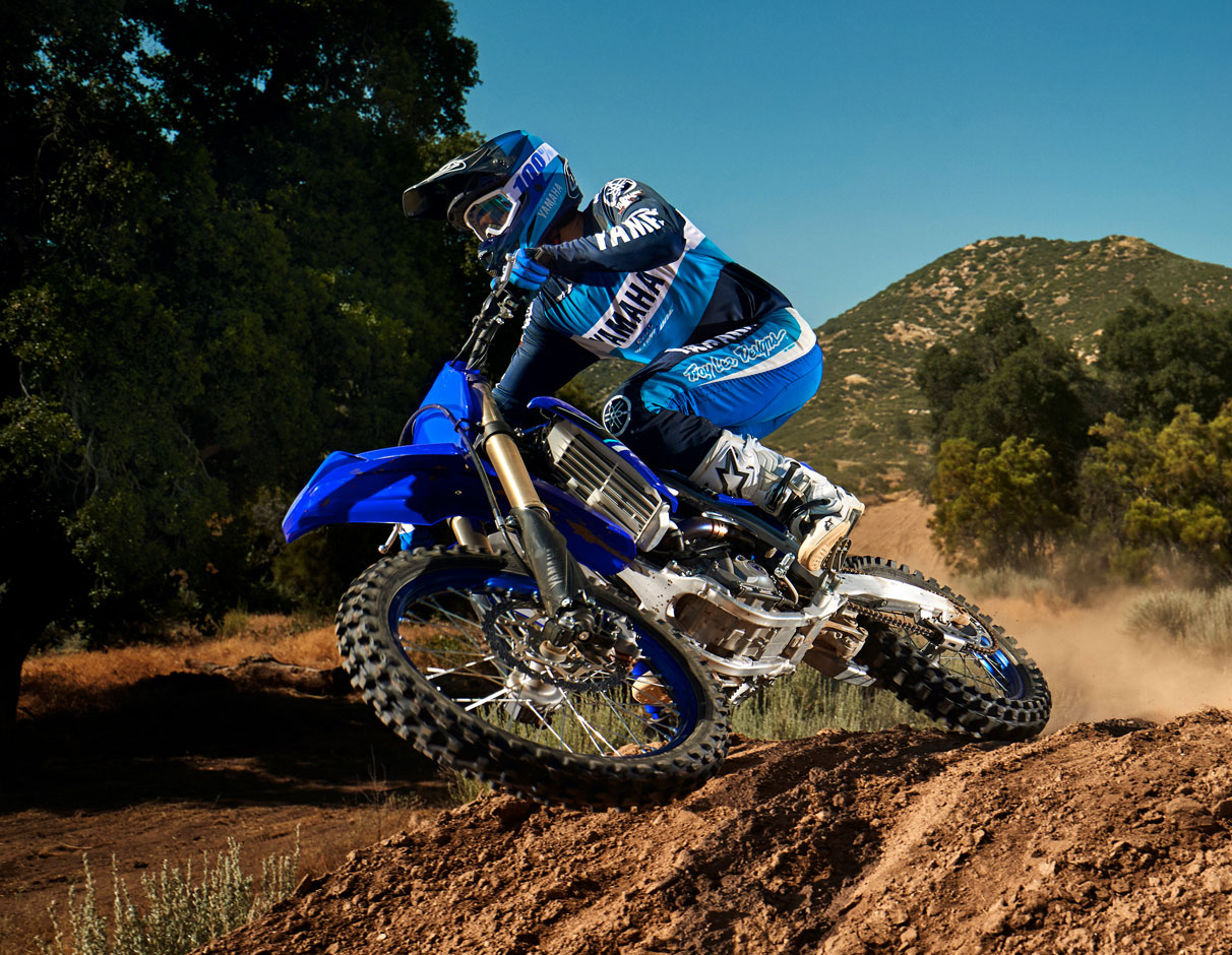 Action image of 2021 YZ450F