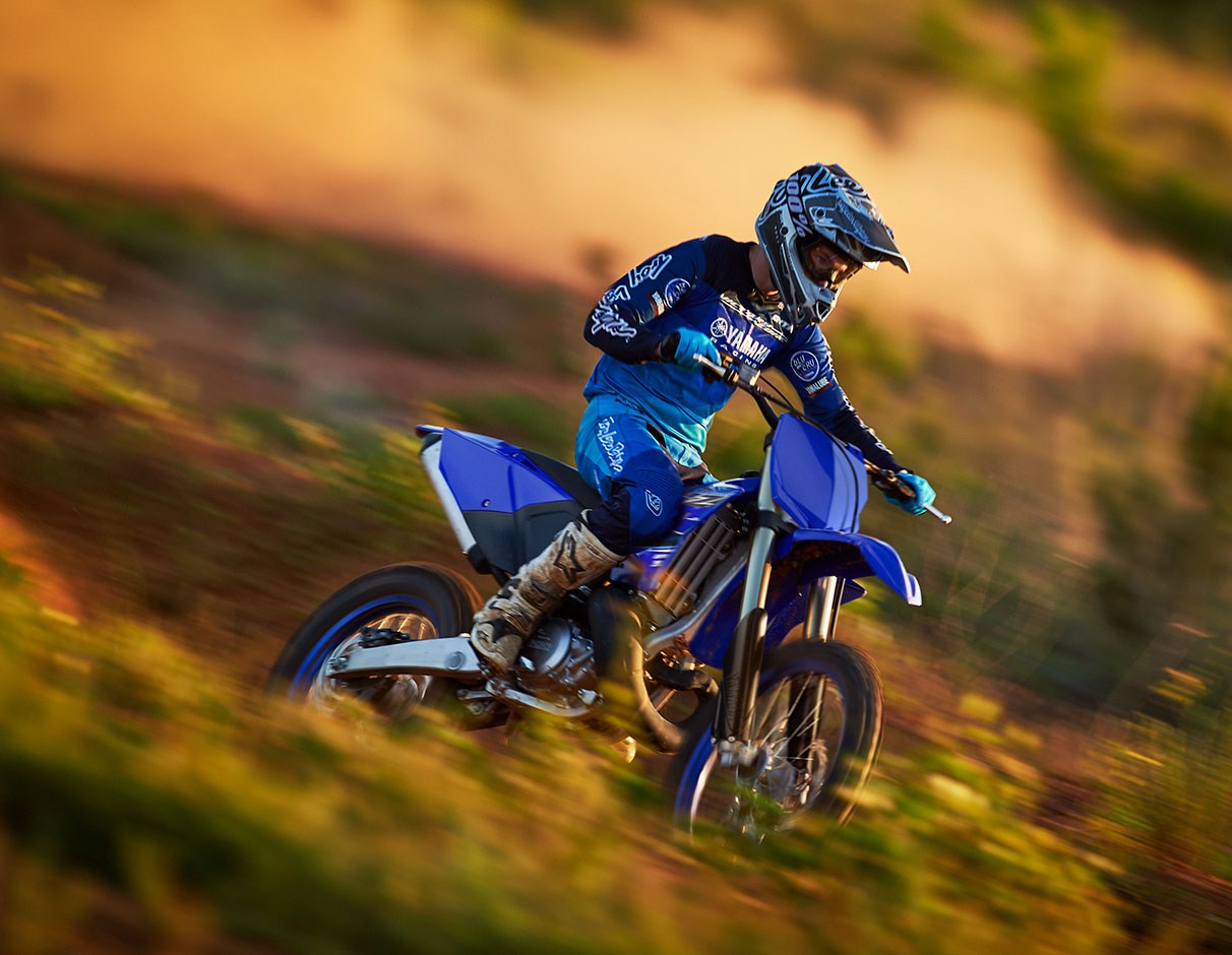 Action image of YZ250X 2021